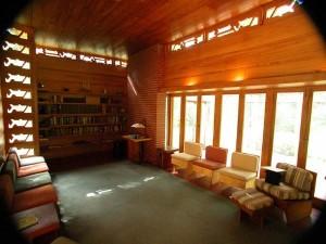 Interior use of cypress