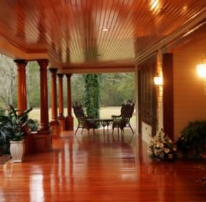 Exterior cypress lumber and siding