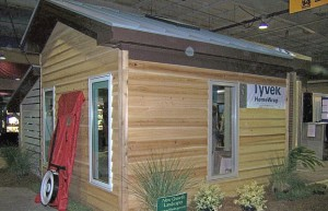 Cypress siding from Buckley Lumber at Green Home Show
