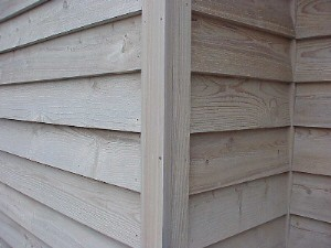 Lap Wood Siding Installation